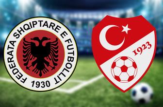 Arnavutluk Türkiye maçı CANLI YAYIN