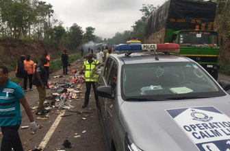 Gana'da korkunç kaza: 60'tan fazla kişi hayatını kaybetti