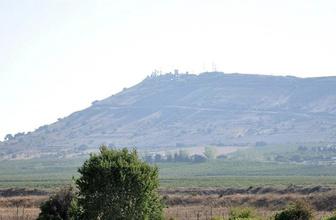 Golan Tepeleri nerede haritadaki yeri konumu