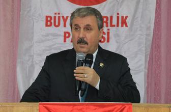 Mustafa Destici'den HDP açıklaması: Güçlü adayı destekleyeceğiz