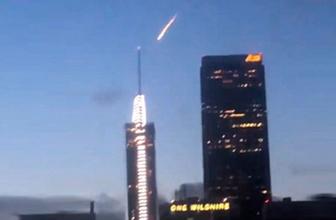 Gizemli ışık UFO paniğine neden oldu