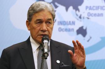 Yeni Zelanda Dışişleri Bakanı Winston Peters: Erdoğan'la yanlış anlaşmaları düzelttik