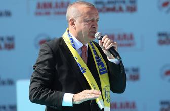 Cumhurbaşkanı Erdoğan'dan Ankara mitinginde önemli açıklamalar