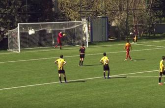 Galatasaraylı genç futbolcudan centilmenlik örneği