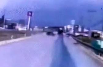 Üç komando askerin hayatını kaybettiği kaza, güvenlik kamerasında