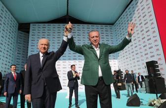 Cumhur İttifakı'ndan Yenikapı'da dev miting