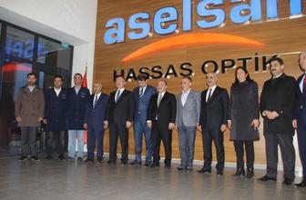 Sanayi ve Teknoloji Bakanı Mustafa Varank Milli Nişangahları inceledi