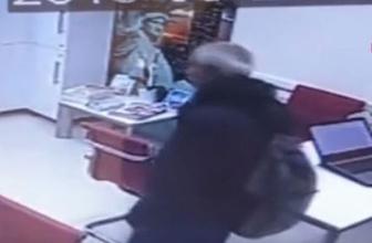 Beşiktaş'taki hırsızlık anı kamerada