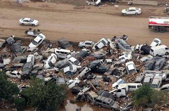Sel felaketi İran'ın güneyini de vurdu! İşte o korkunç manzaralar