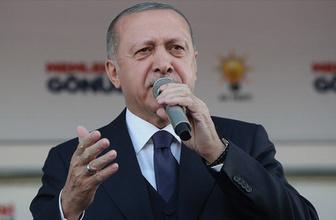 Cumhurbaşkanı Erdoğan: Mertçe karşımıza çıkamıyorlar