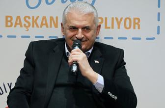 """Binali Yıldırım, """"Türkiye'nin en büyüğünü yapacağız"""" deyip müjdeyi verdi!"""