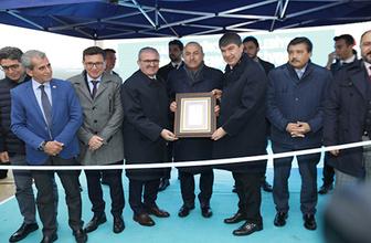 Finike Öğrenci Pansiyonu'nu Dışişleri Bakanı Çavuşoğlu açtı