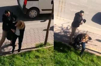 Trafik magandasına bak! Kadının yüzüne biber gazı sıktı