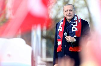 Cumhurbaşkanı Erdoğan'dan Bolu'da önemli açıklamalar