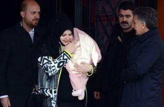 Bilal Erdoğan ve eşi Reyyan Erdoğan oy kullandı