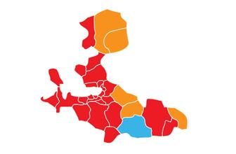 İzmir'de ilçe belediyeleri 4'e ayrıldı