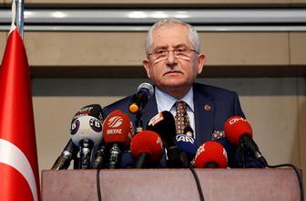 YSK Başkanı Sadi Güven'den itirazlara ilişkin kritik açıklama!