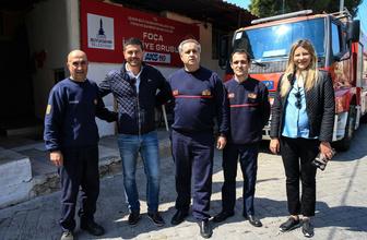 İzmir Foça'da itfaiye erliğinden belediye başkanlığına uzanan başarı hikayesi