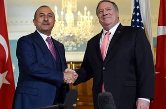 Bakan Çavuşoğlu ve Pompeo'dan ABD'de kritik görüşme!