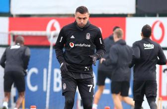 Beşiktaş antrenmanında yumruk yumruğa kavga