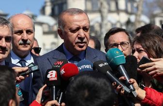 Cumhurbaşkanı Erdoğan'dan Bağcılar'da hasta ziyareti