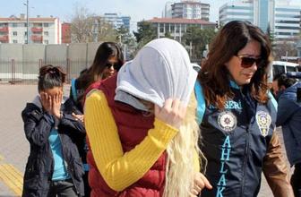 Kayseri'de 'eş değiştirme' operasyonu: 8 gözaltı