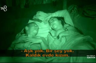 Survivor Sabriye: Uyuz oluyorum