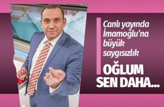 Erkan Tan'dan Ekrem İmamoğlu'na büyük saygısızlık! Sen daha başkan olmadın oğlum!