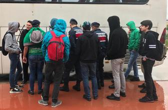 """Bursaspor'un otobüsüne """"Allah'ınız Beşiktaş"""" yazdılar"""