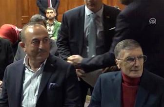 Bakan Çavuşoğlu'ndan Aziz Sancar'a ziyaret