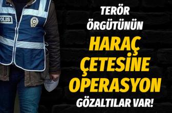 Ankara'da terör örgütü PKK/KCK'nın haraç çetesine operasyon