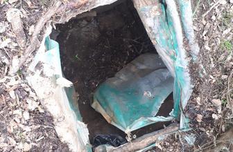 Bingöl'de 5 odalı sığınak imha edildi