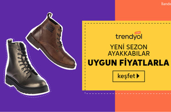 Yeni sezon ayakkabılar uygun fiyatlarla Trendyol'da