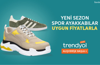 Yeni sezon spor ayakkabılar Trendyol'da