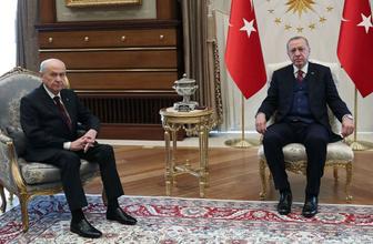 Erdoğan'la Bahçeli'den seçimin ardından kritik görüşme