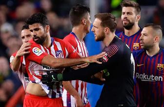Diego Costa hakemi ana avrat sövdü sezonu kapadı