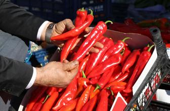 Kırmızı biber fiyatları 30 liraya kadar çıktı