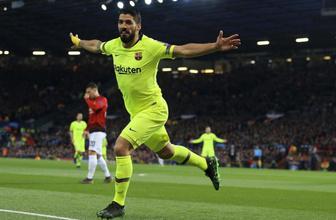 Barcelona Manchester United'a darbeyi vurdu