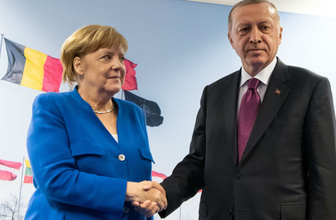 Erdoğan'dan Angela Merkel'e taziye telefonu