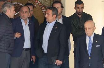 Fenerbahçeli futbolculardan 'Sinyor' için taziye ziyareti