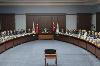 Cumhurbaşkanı Erdoğan'dan teşkilat toplantısında dikkat çeken sözler