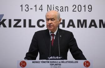 MHP Lideri Devlet Bahçeli'den partisine dikkat çeken Erdoğan talimatı!