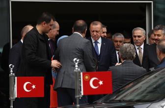 Cumhurbaşkanı Erdoğan Fatih Belediyesini ziyaret etti