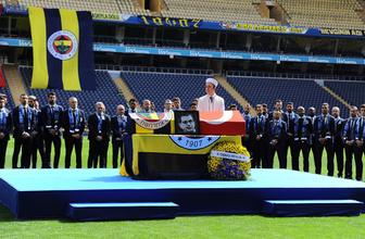 Can Bartu için Fenerbahçe Ülker Stadyumu'nda tören düzenlendi