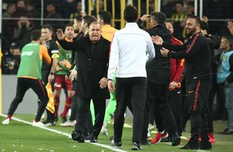 Fenerbahçe derbisinde Galatasaraylıları çıldırtan pozisyonlar