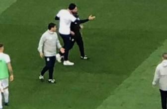 Fenerbahçe Galatasaray derbisi öncesi gerginlik! Volkan ve Hasan Şaş...