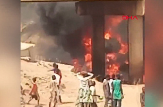 Yakıt tankeri ile kamyonun çarpıştı kazada 11 kişi öldü