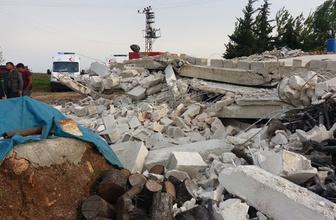 Şanlıurfa'da ambar çöktü: 1 ölü 3 yaralı