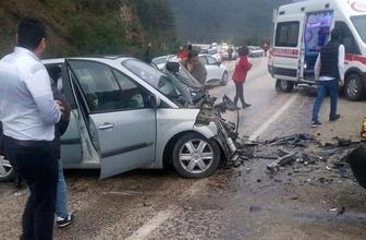 Bursa'da trafik kazası: 2 ölü 8 yaralı