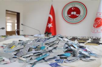 Adliye girişinde bin 383 kesici ve delici alet ele geçirildi